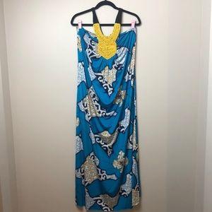 T bags Los Angeles halter dress